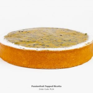 Passionfruit Ricotta Baked Cheese Cake