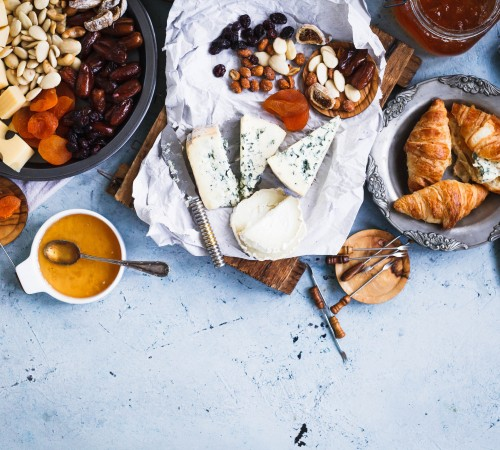 Cheese & Dried Fruits (Large)