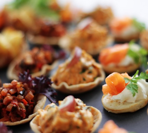 Chilled Canapes Collection (SERVES 10)